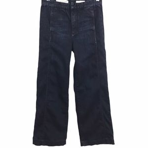 Pilcro and the Letterpress Pintuck Cropped Jeans